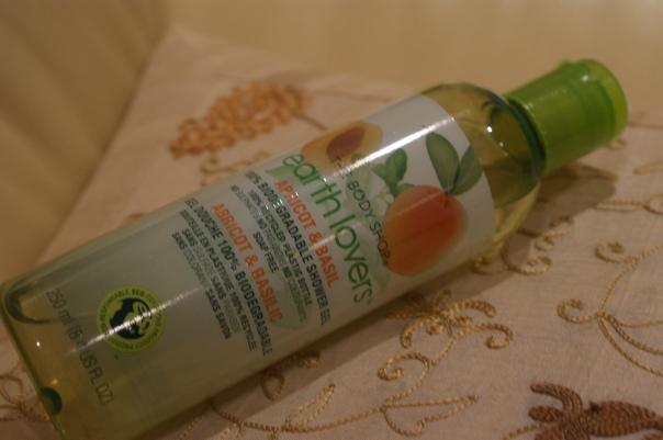 the body shop earth lovers shower gel