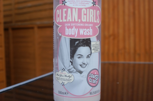 soap & glory clean girls body wash